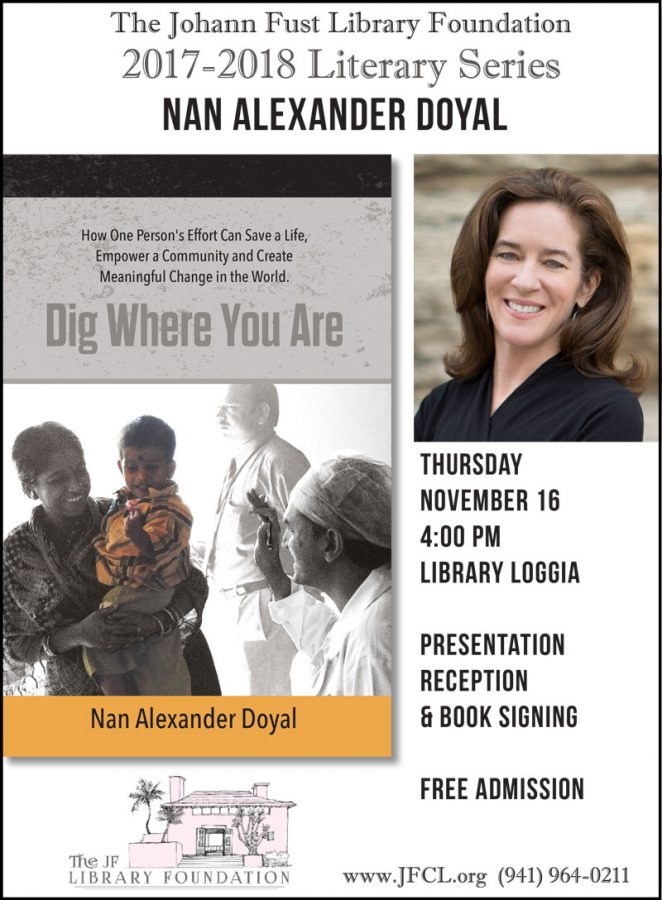 "Nan Alexander Doyal ""Dig Where You Are"""