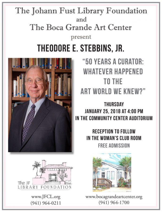 Ted Stebbins - Art Curator