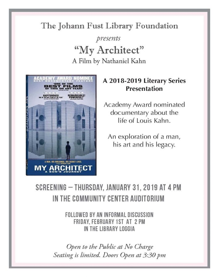 My Architect Documentary by Nathaniel Kahn